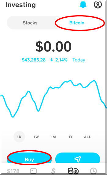 BitcoinビットコインをCash Appで簡単購入しました