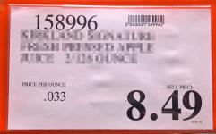 Costco price x9