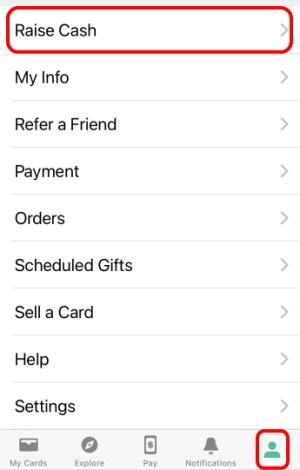 Raiseのアプリでキャッシュバックを受ける方法を案内します。ケータイで簡単にキャッシュバックを受け取れます。