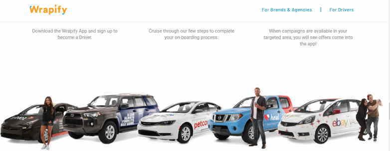 車を広告塔にして副収入