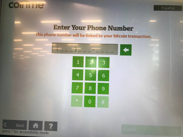 Coinme電話番号