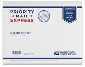 フラットレートの封筒のエクスプレス