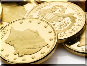 金貨にはプレミアがついています