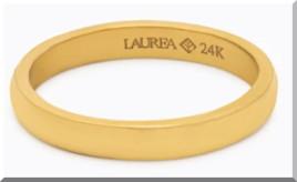 Laureaの純金のリング