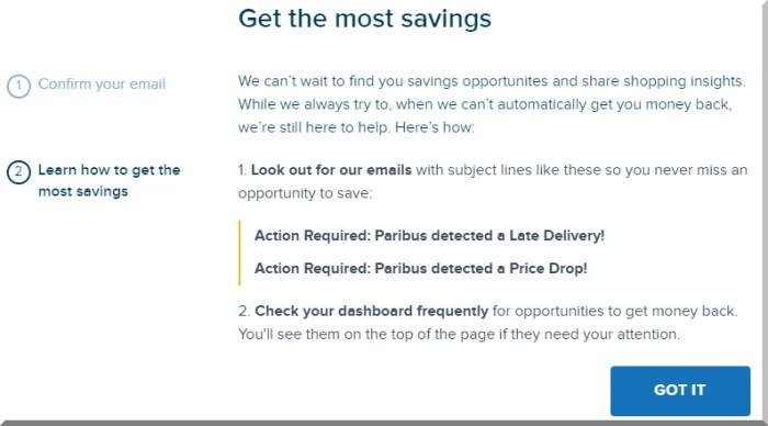 買ったものが値下がりしたとき、自動交渉できない場合はサポートしてくれます。