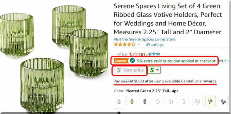 アンソロポロジーのグラスをアマゾンで無料でゲット