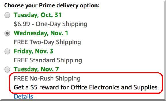 Amazon Primeで送料をさらに得する