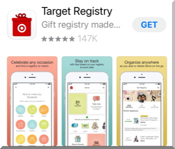 Targetターゲットのレジストリのアプリ