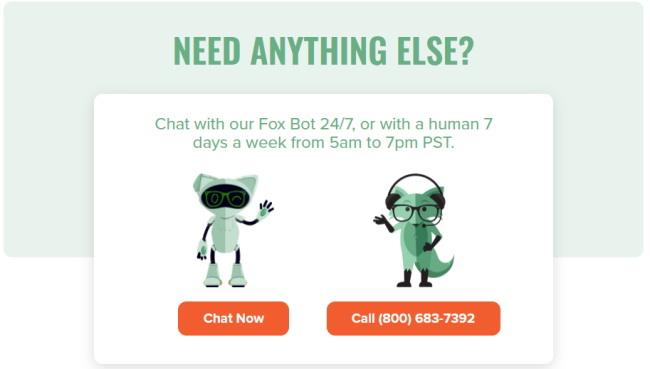 Mint Mobileミントモバイルのカスタマーサービスはロボチャットと人による電話対応サービスがあります。