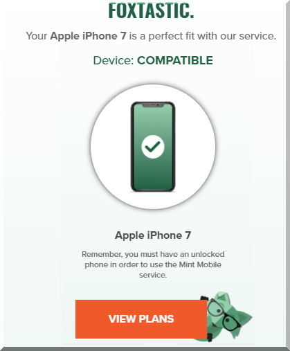 Mint Mobileミントモバイルではわかりやすい英語を面白く使っているので、楽しみながら登録できます
