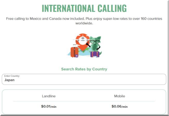 Mint Mobileミントモバイルで日本へ国際電話をかける時の料金はいくら?こちらです!