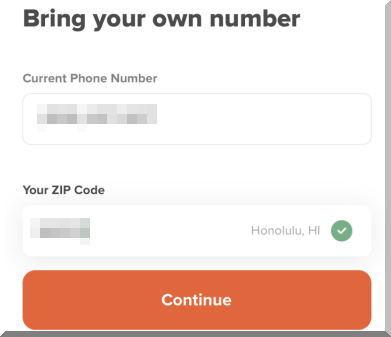 Mint Mobileミントモバイルで引き続き今の番号を使う方法を紹介します。