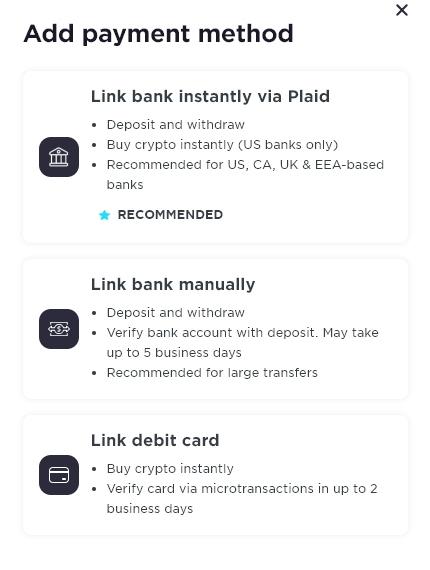 Geminiへの入金方法・仮想通貨の購入方法