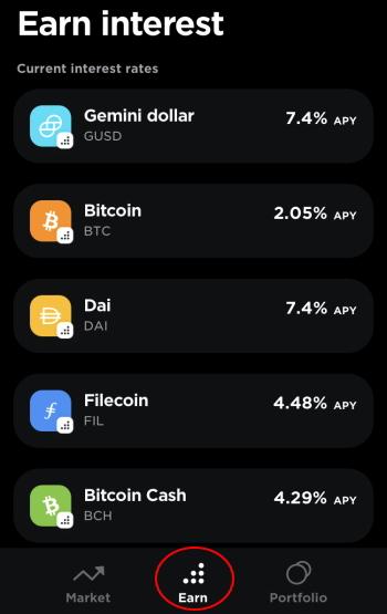 Geminiで仮想通貨に高金利の利息をつけてもらえます 仮想通貨の種類はたくさんあります