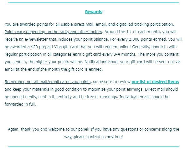 ジャンクメールや不要なDM郵便をお金に替えてくれる会社から審査合格通知がきました。内容は・・・